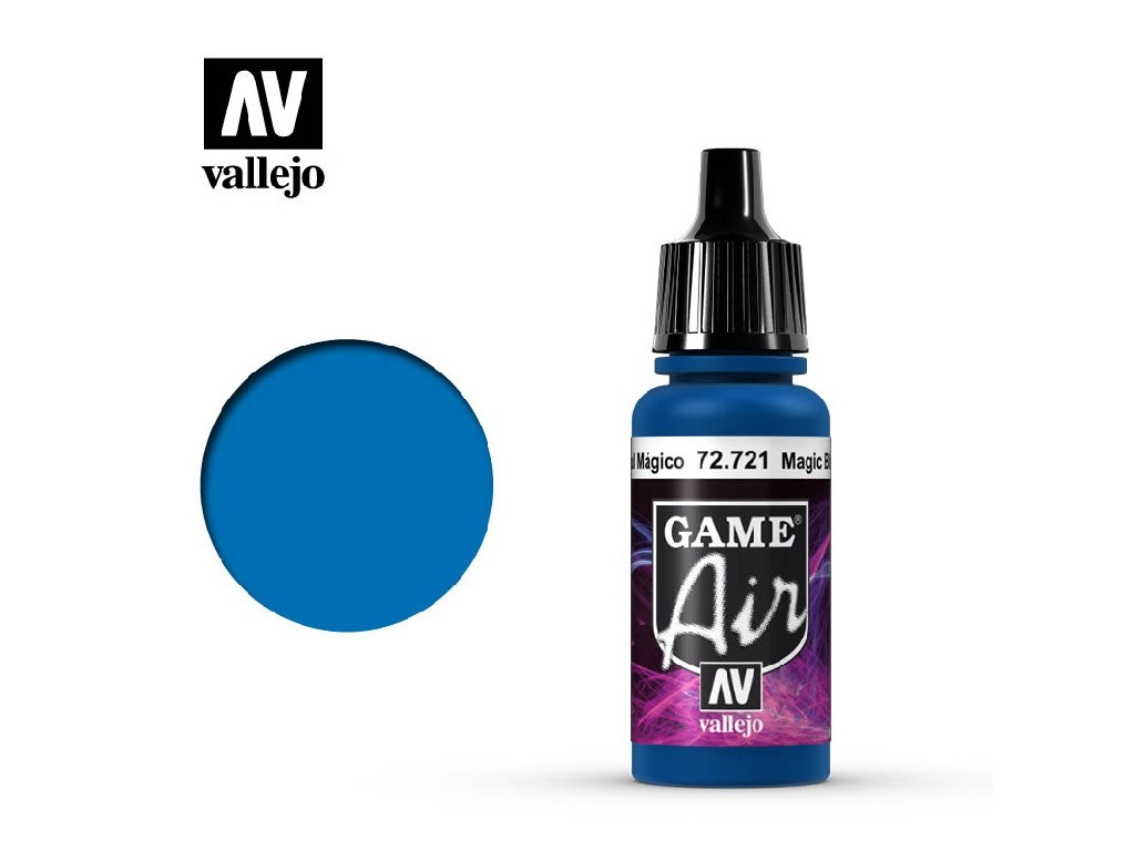 Vallejo - Game Air 72721 Magic Blue 17 ml.