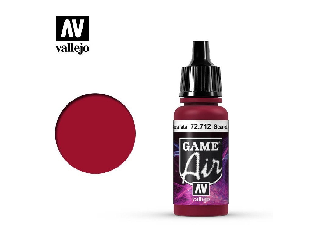 Vallejo - Game Air 72712 Scarlett Red 17 ml.