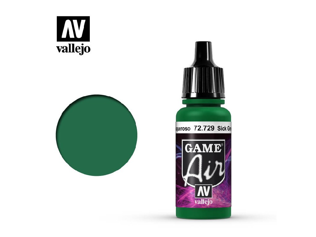 Vallejo - Game Air 72729 Sick Green 17 ml.