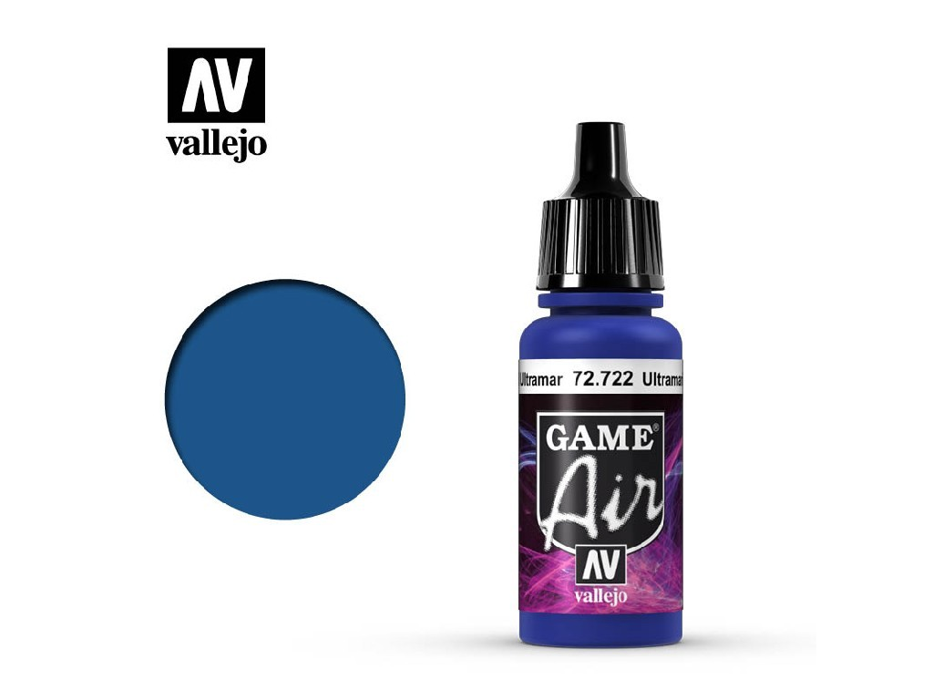 Vallejo - Game Air 72722 Ultramarine Blue 17 ml.