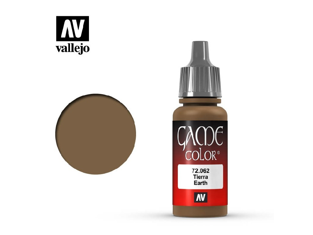 Vallejo - Game Color 72062 Earth 17 ml.