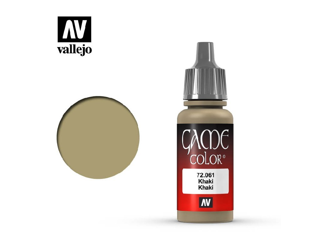 Vallejo - Game Color 72061 Khaki 17 ml.