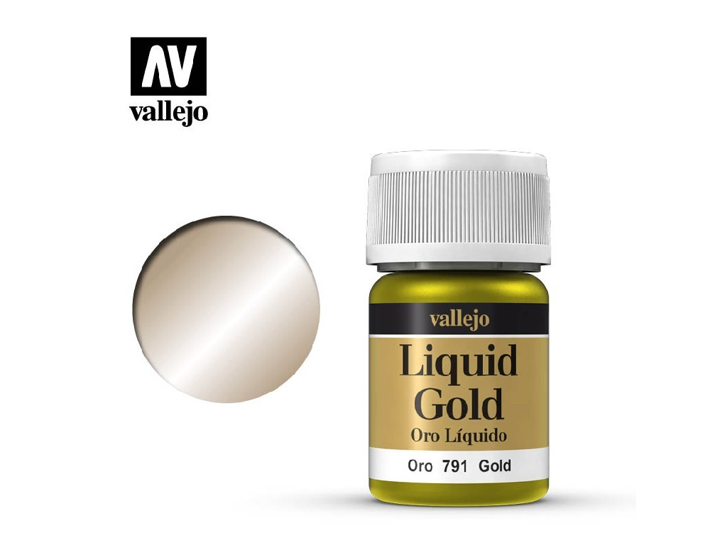 Vallejo Liquid - Gold Gold (Alcohol Based) 35 ml. 70791