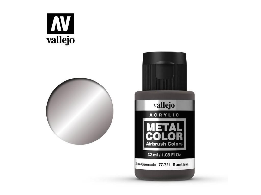 Vallejo - Metal Color 77721 Burnt Iron 32ml.