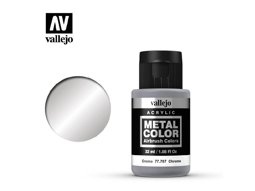 Vallejo - Metal Color 77707 Chrome 32ml.