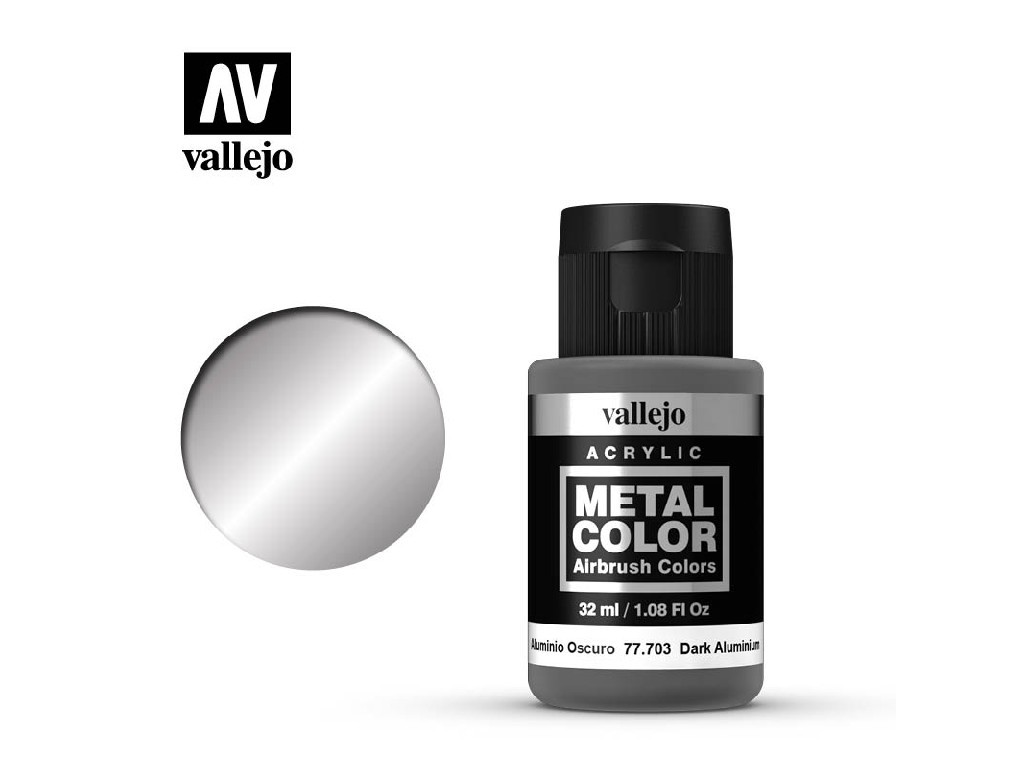 Vallejo - Metal Color 77703 Dark Aluminium 32ml.