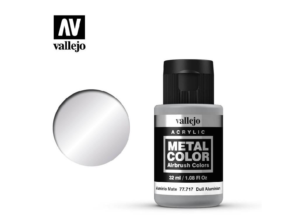 Vallejo - Metal Color 77717 Dull Aluminium 32ml.