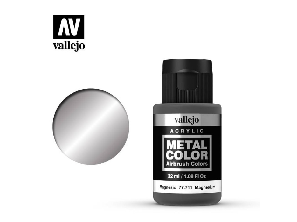 Vallejo - Metal Color 77711 Magnesium 32ml.