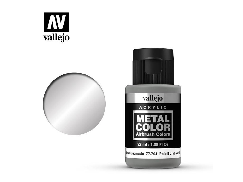 Vallejo - Metal Color 77704 Pale Burnt Metal 32ml.