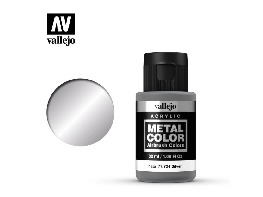 Vallejo - Metal Color 77724 Silver 32ml.