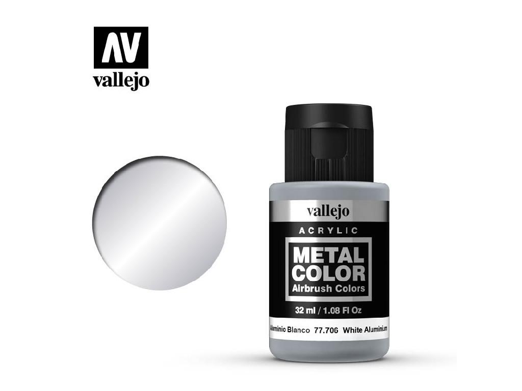 Vallejo - Metal Color 77706 White Aluminium 32ml.