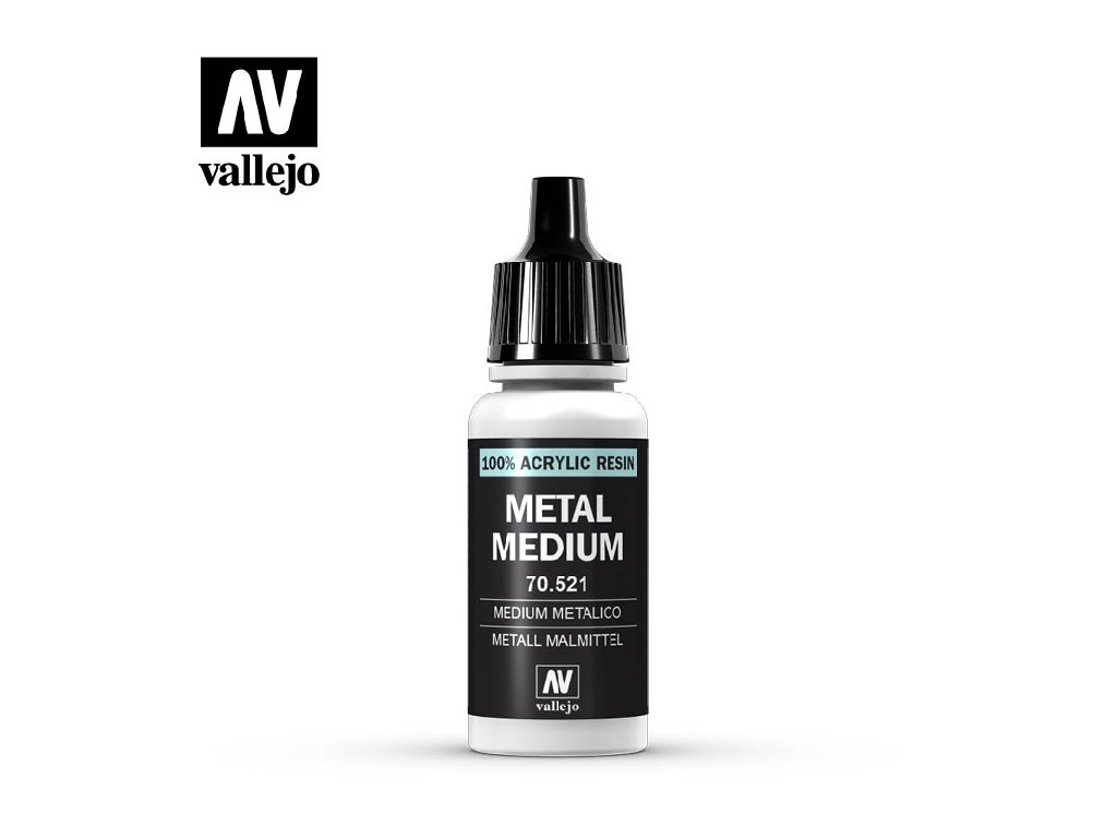 Vallejo - Pomocné produkty 70521 Metal Medium 17 ml.