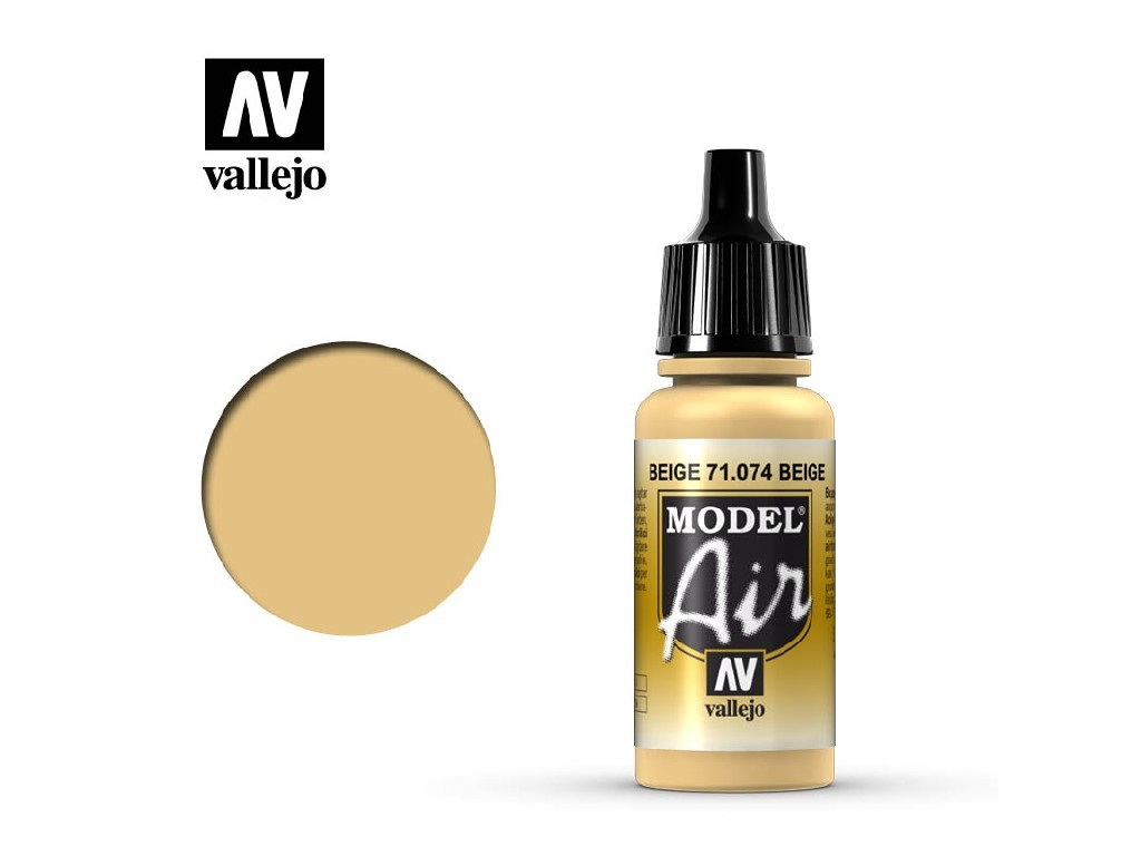 Vallejo Model Air - Beige 17 ml. 71074