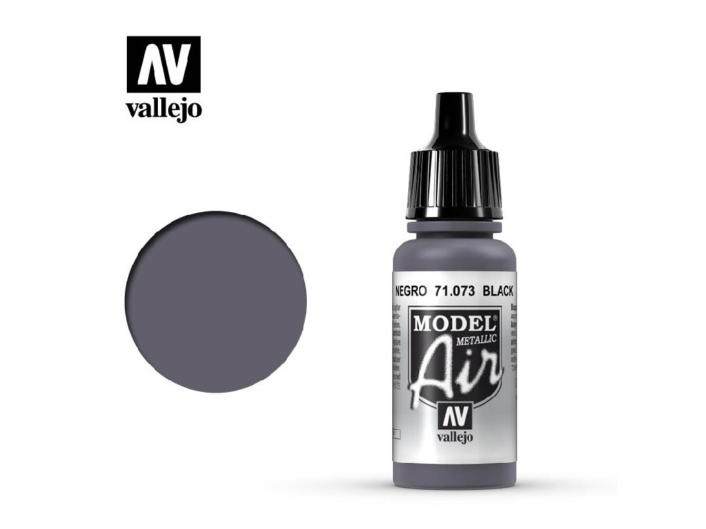 Vallejo Model Air - Black 17 ml. 71073