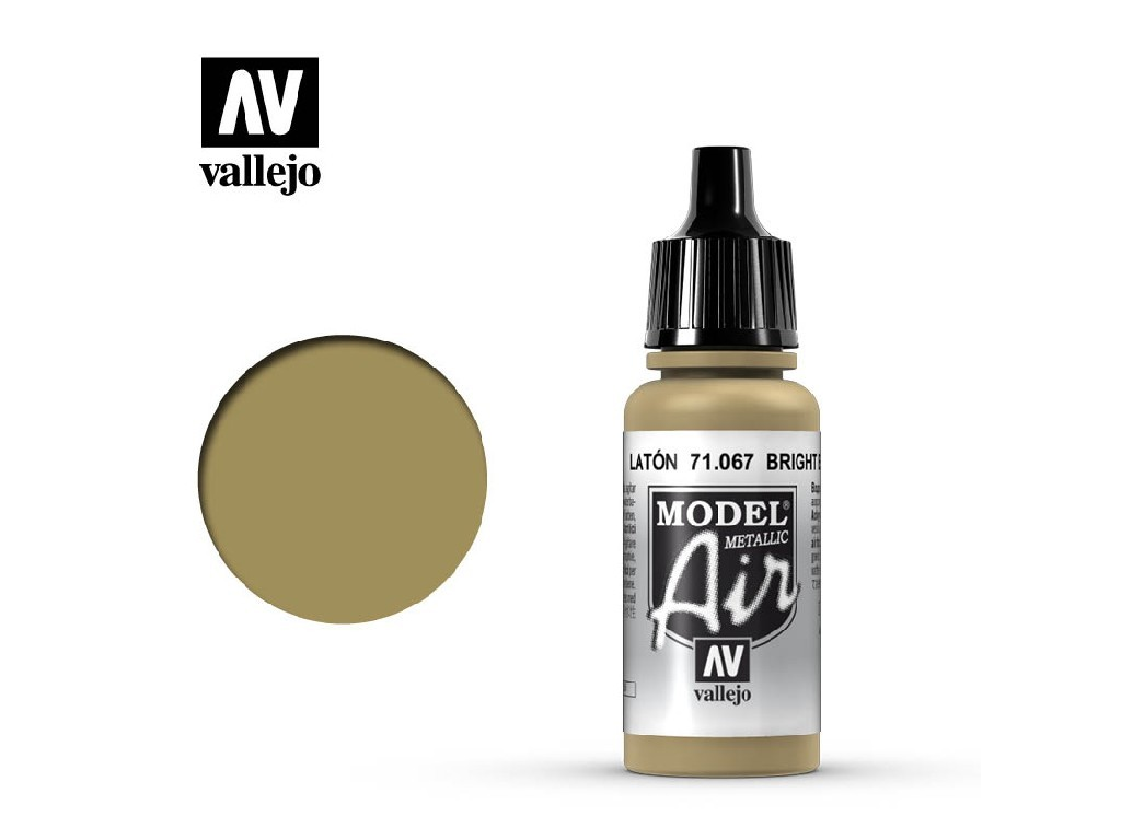 Vallejo Model Air - Bright Brass 17 ml. 71067