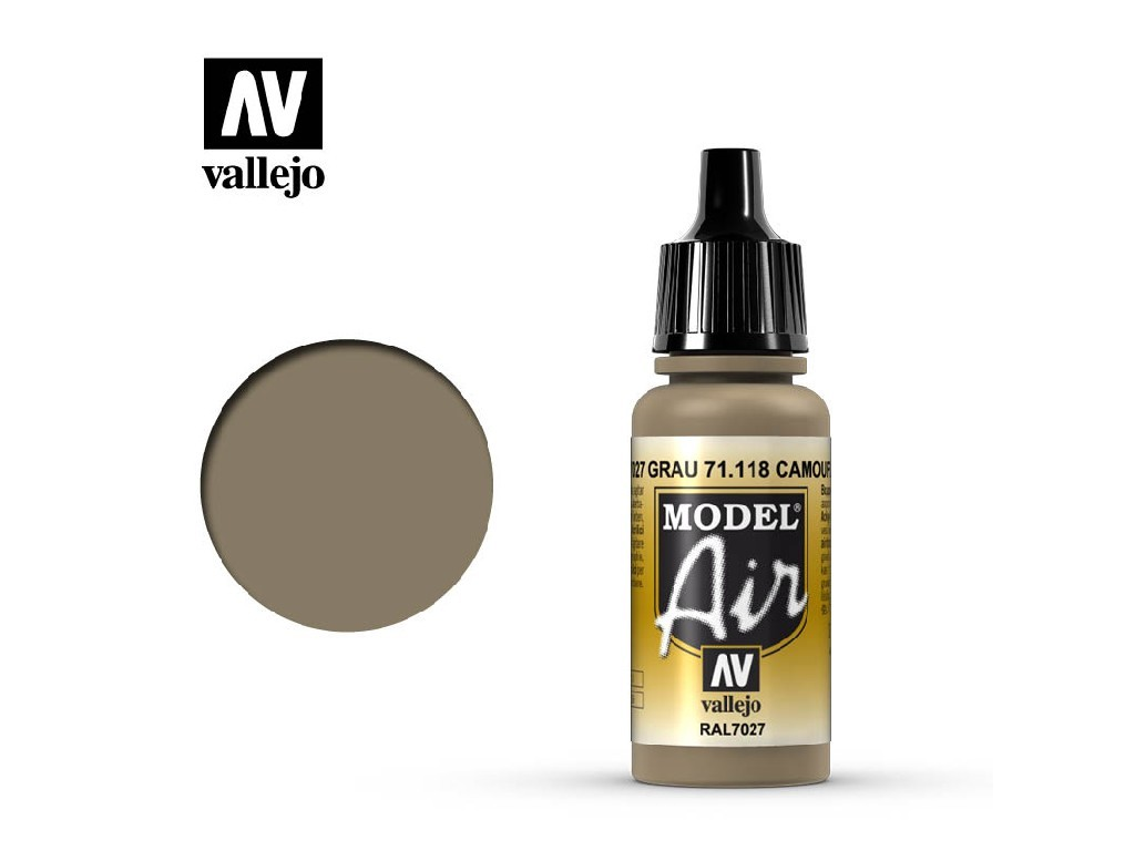 Vallejo Model Air - Camouflage Gray 17 ml. 71118