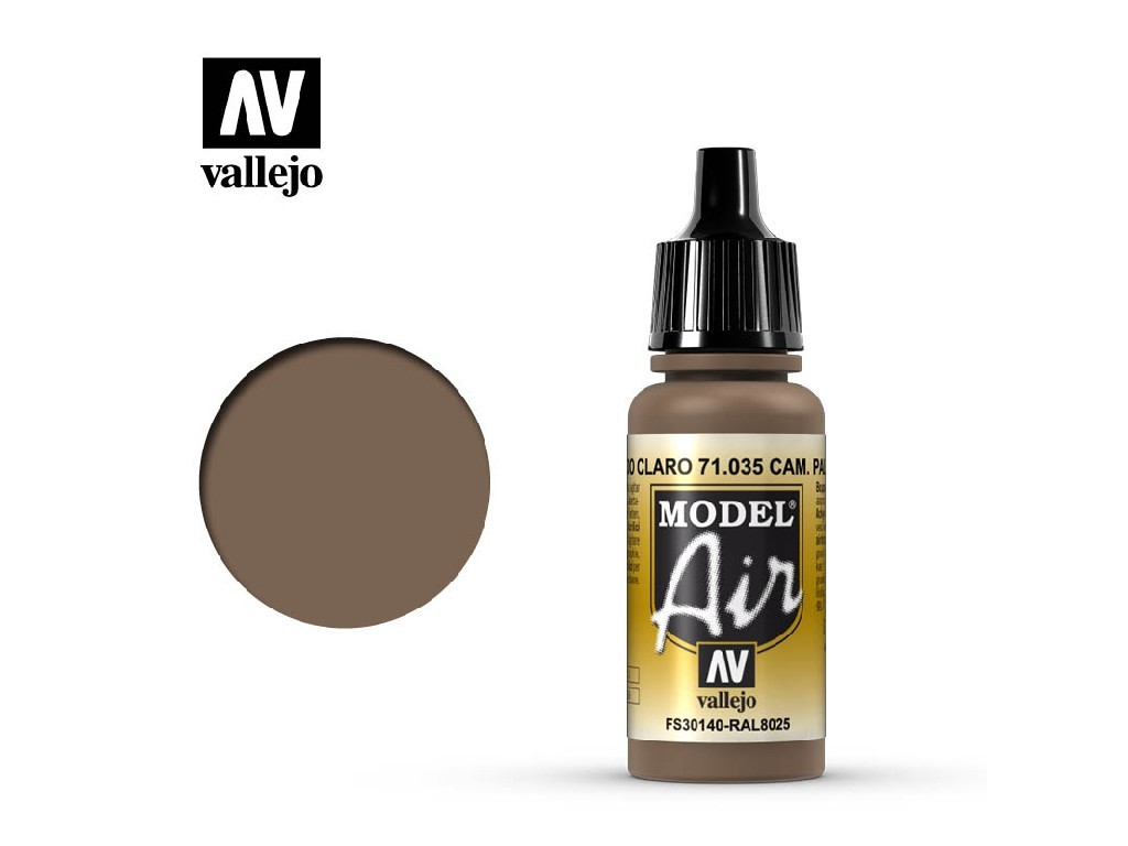 Vallejo Model Air - Camouflage Pale Brown 17 ml. 71035