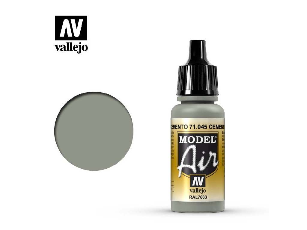 Vallejo Model Air - Cement Grey 17 ml. 71045