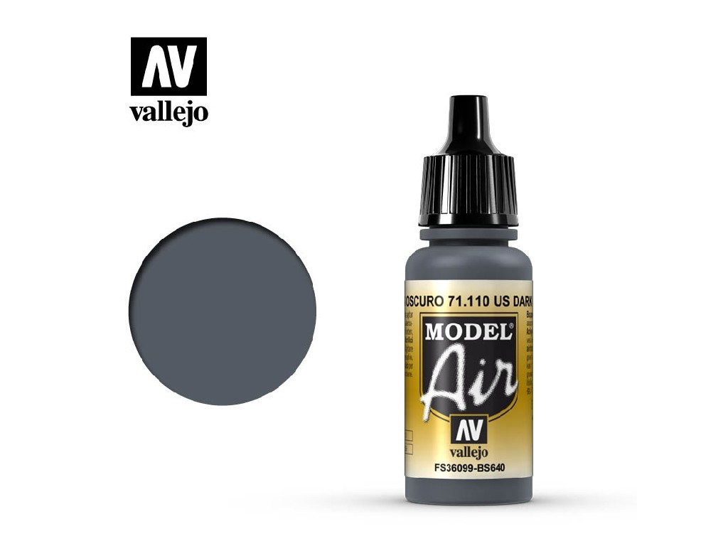 Vallejo Model Air - Dark Grey 17 ml. 71110