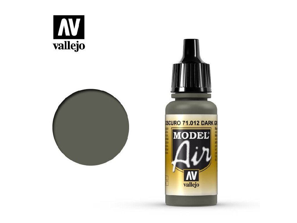 Vallejo Model Air - Dark Green 17 ml. 71012
