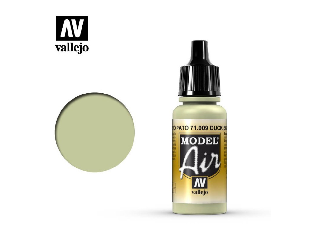 Vallejo - Model Air 71009 Eau de Nil Duck Egg Green 17 ml.