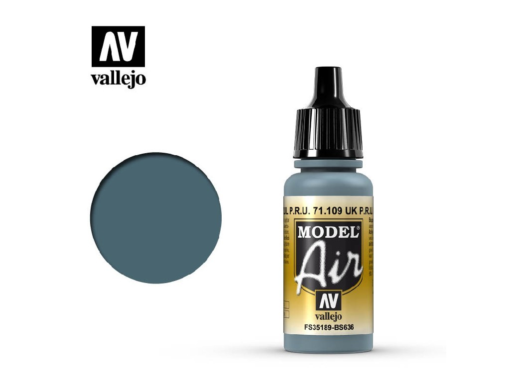 Vallejo Model Air - Faded P.R.U Blue 17 ml. 71109