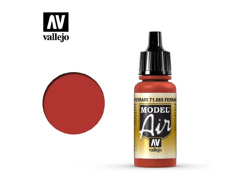 Vallejo Model Air - Ferrari Red 17 ml. 71085