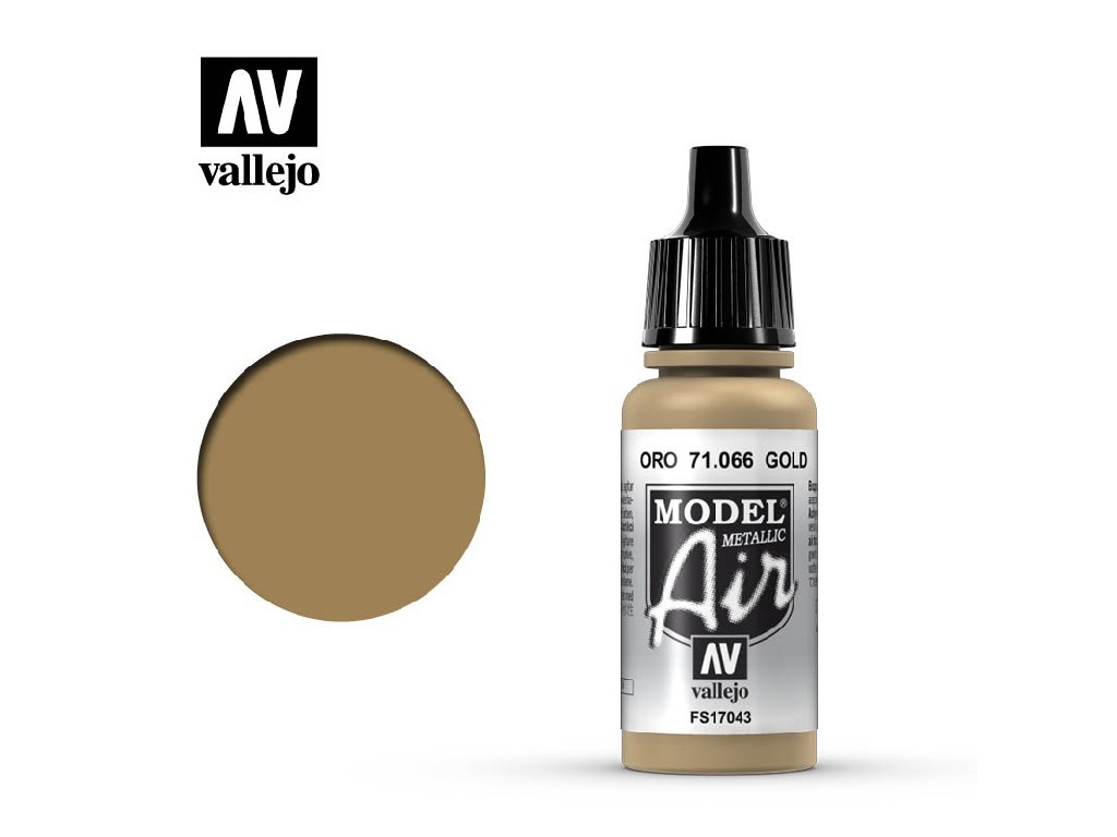 Vallejo Model Air - Gold 17 ml. 71066