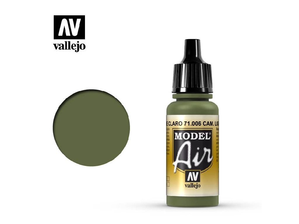 Vallejo - Model Air 71006 Light Green Chromate 17 ml.