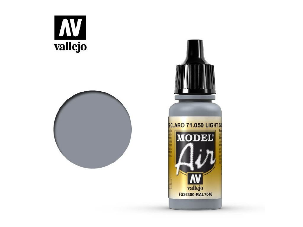 Vallejo - Model Air 71050 Light Grey 17 ml.
