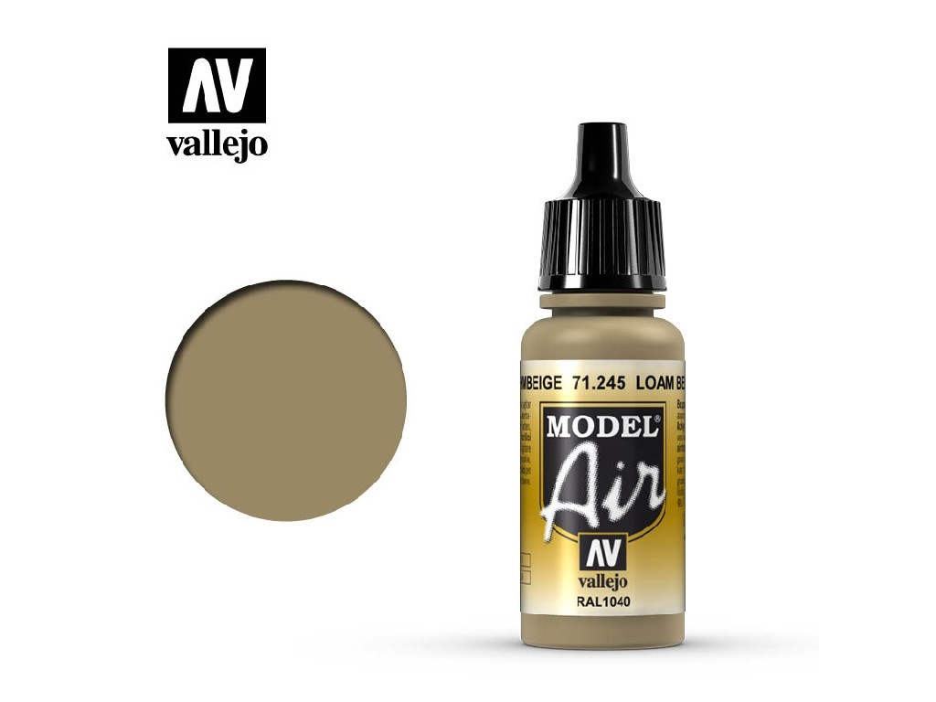 Vallejo Model Air - Loambrown RAL 1040 17 ml. 71245