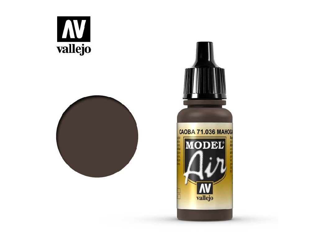 Vallejo Model Air - Mahagony 17 ml. 71036