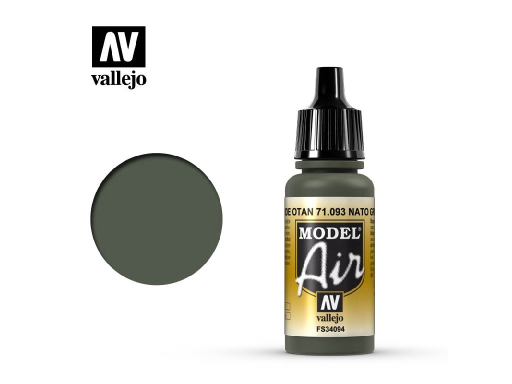 Vallejo Model Air - NATO Green 17 ml. 71093