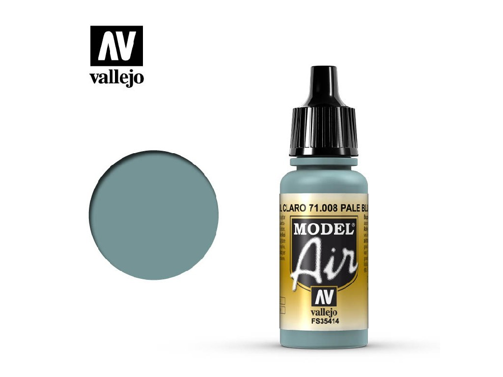 Vallejo Model Air - Pale Blue 17 ml. 71008