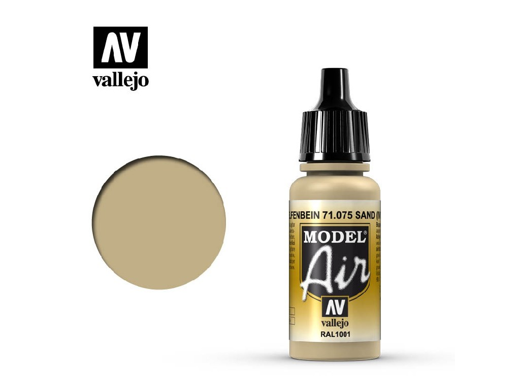 Vallejo Model Air - Ivory 17 ml. 71075