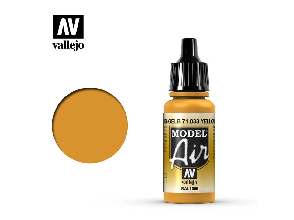 Vallejo Model Air - Yellow Ochre 17 ml. 71033