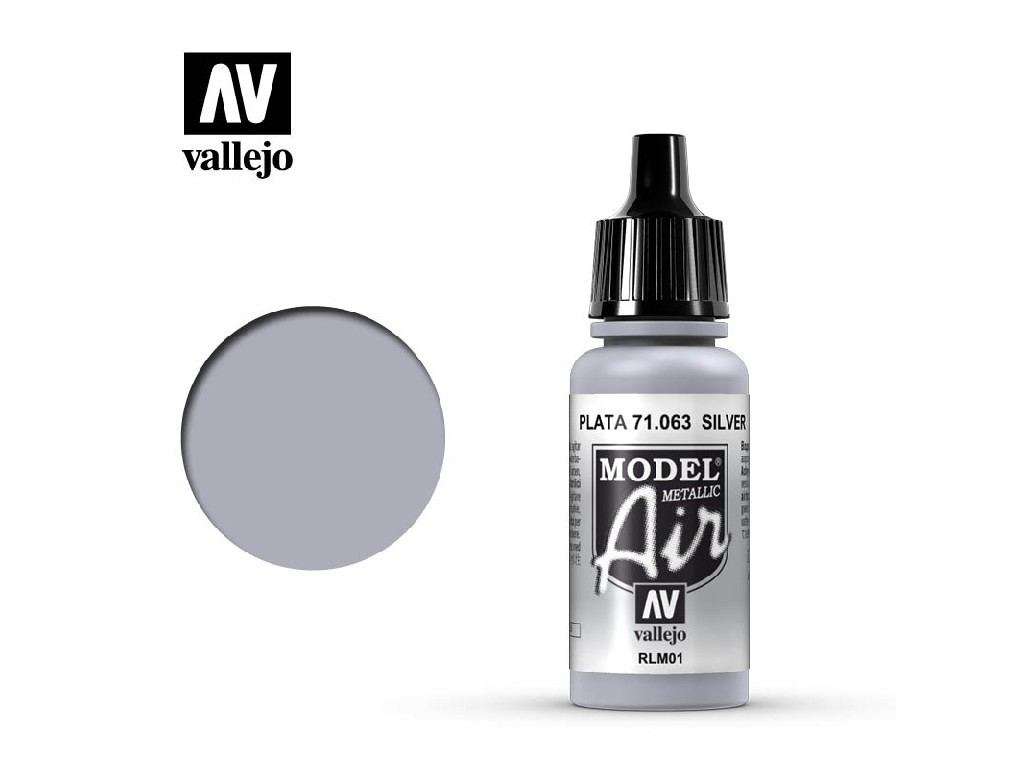 Vallejo Model Air - Silver RLM01 17 ml. 71063
