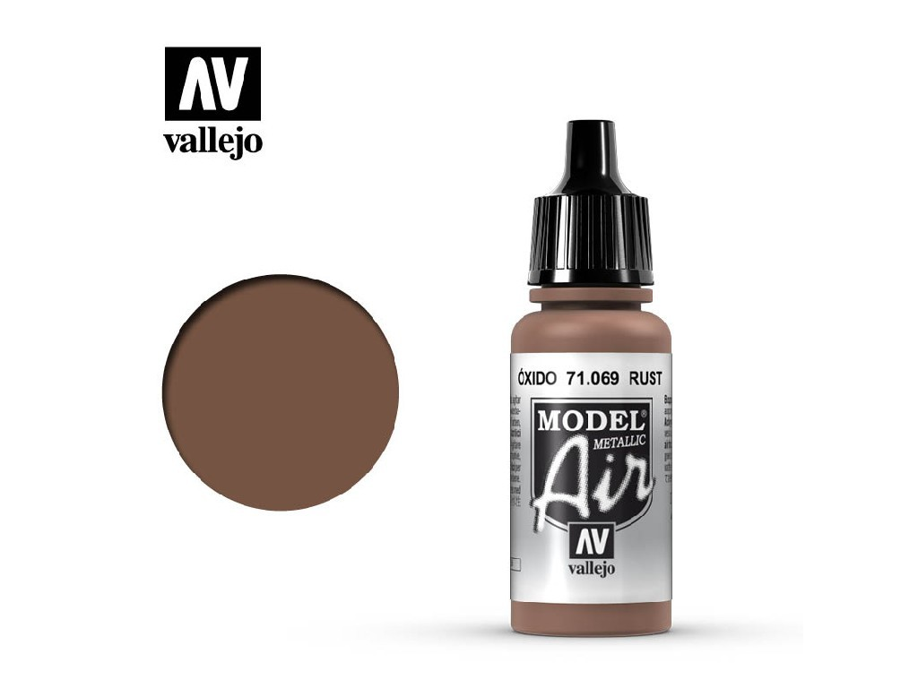 Vallejo Model Air - Rust 17 ml. 71069