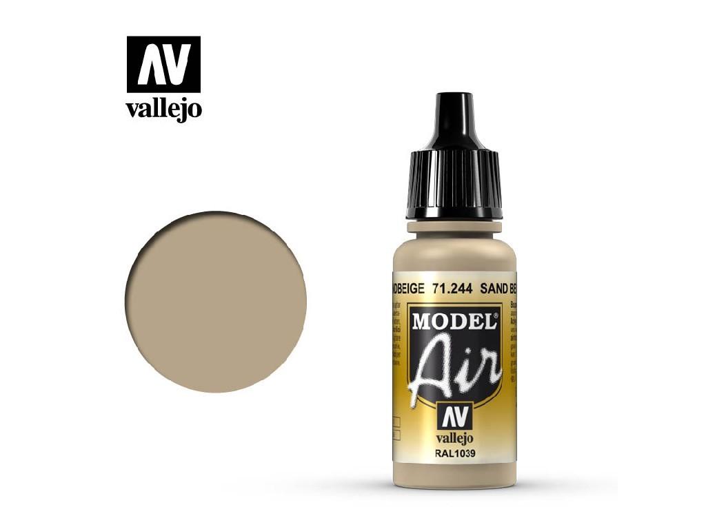 Vallejo Model Air - Camouflage Sandbeige RAL 1039 17 ml. 71244