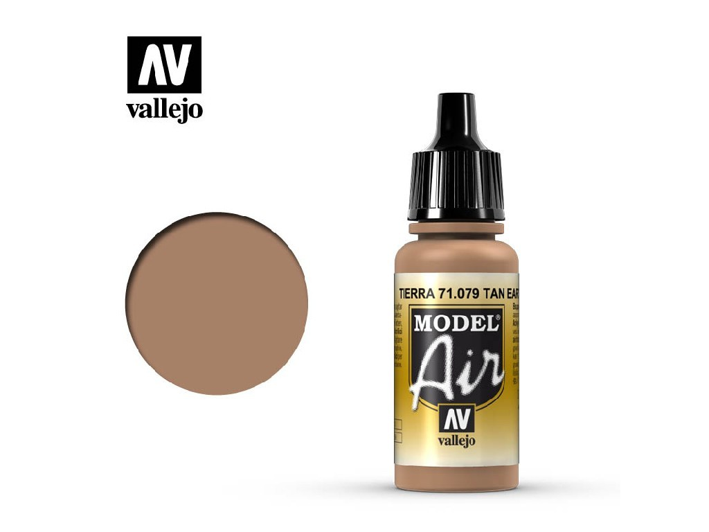 Vallejo Model Air - Tan Earth 17 ml. 71079