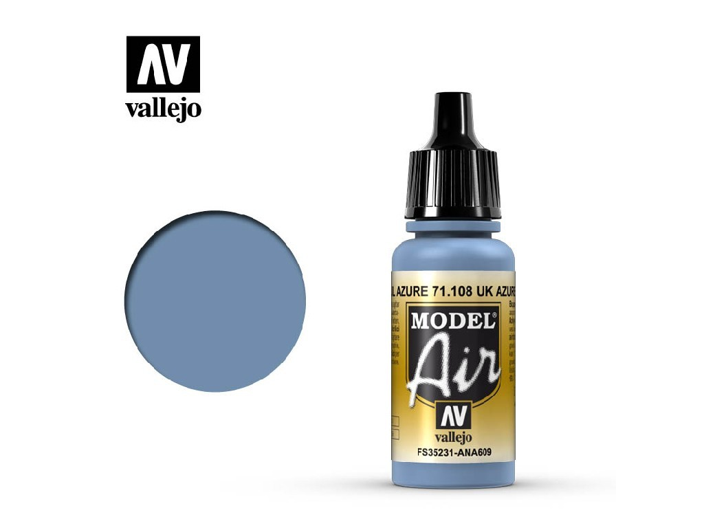 Vallejo Model Air - UK Azure Blue 17 ml. 71108