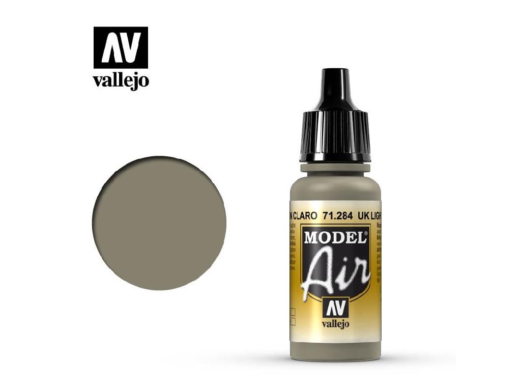 Vallejo Model Air - UK Light Mud 17 ml. 71284