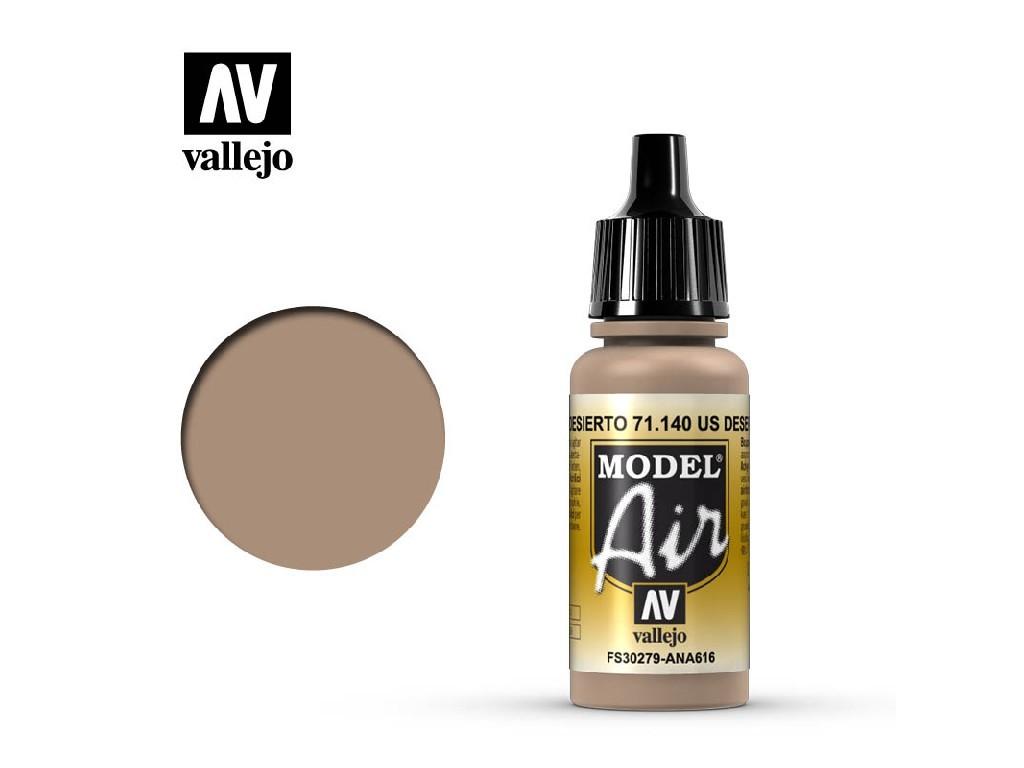 Vallejo Model Air - US Desert Sand 17 ml. 71140