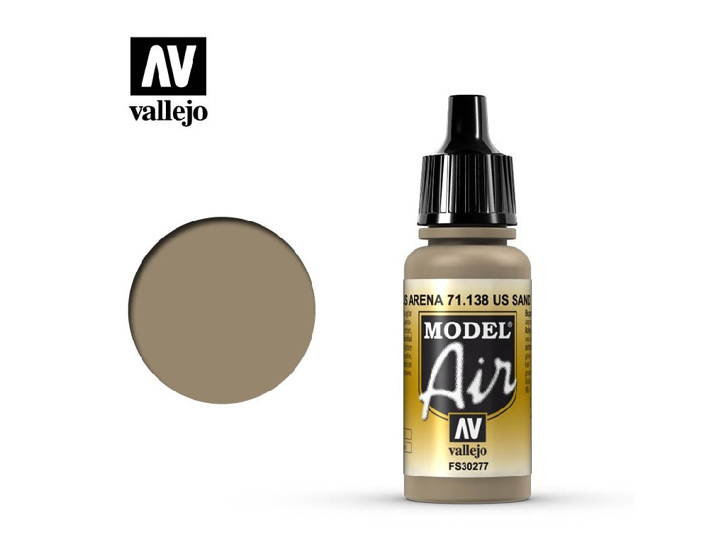 Vallejo Model Air - US Sand 17 ml. 71138