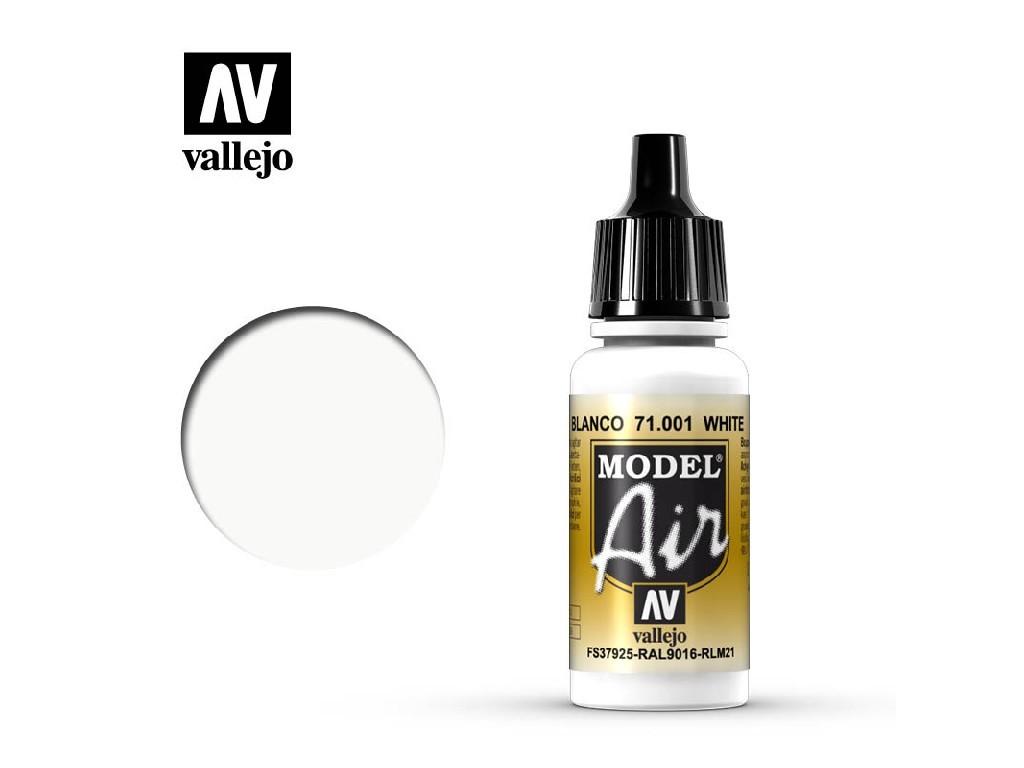 Vallejo - Model Air 71001 White 17 ml.