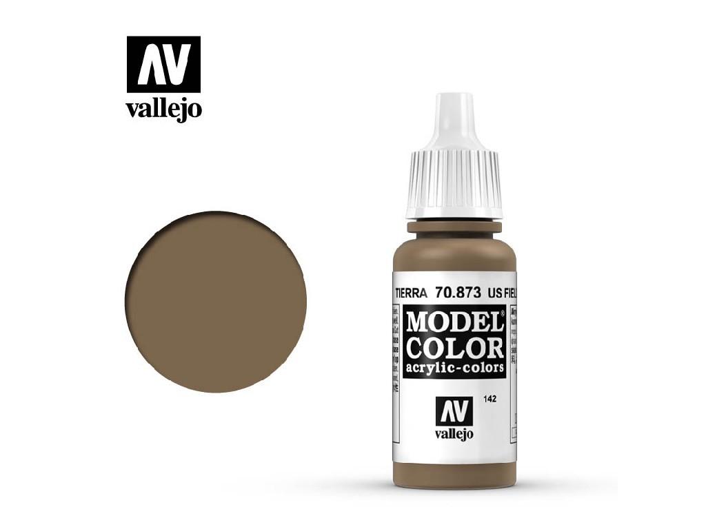 Vallejo Model Color - 142 Us Field Drab 17 ml. 70873