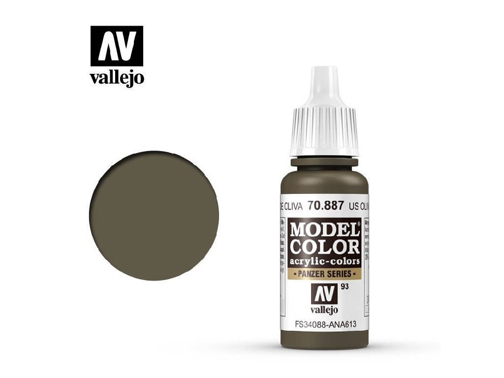 Vallejo Model Color - 93 Brown Violet 17 ml. 70887