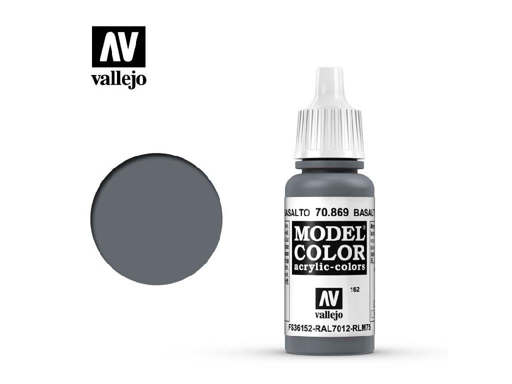 Vallejo Model Color - 162 Basalt Grey 17 ml. 70869