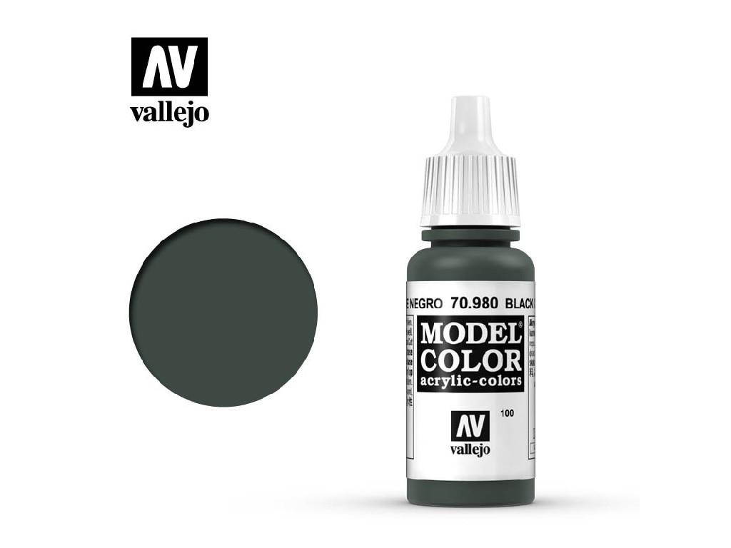 Vallejo - Model Color 100 Black Green 17 ml. 70980