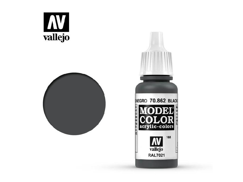 Vallejo Model Color - 168 Black Grey 17 ml. 70862